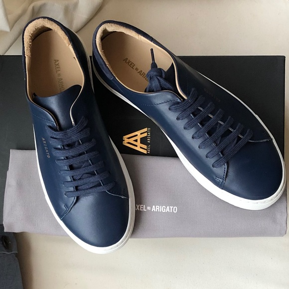 Arigato Nwt Clean Axel Navy Nwb Sneaker Leather 90 wnOP80k